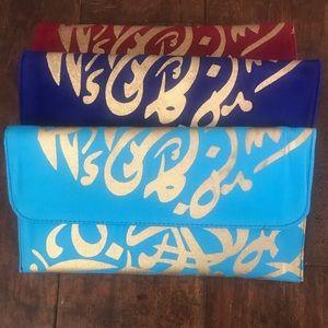 Handbags - Ramadan Arabic Calligraphy Clutch Purse Bag